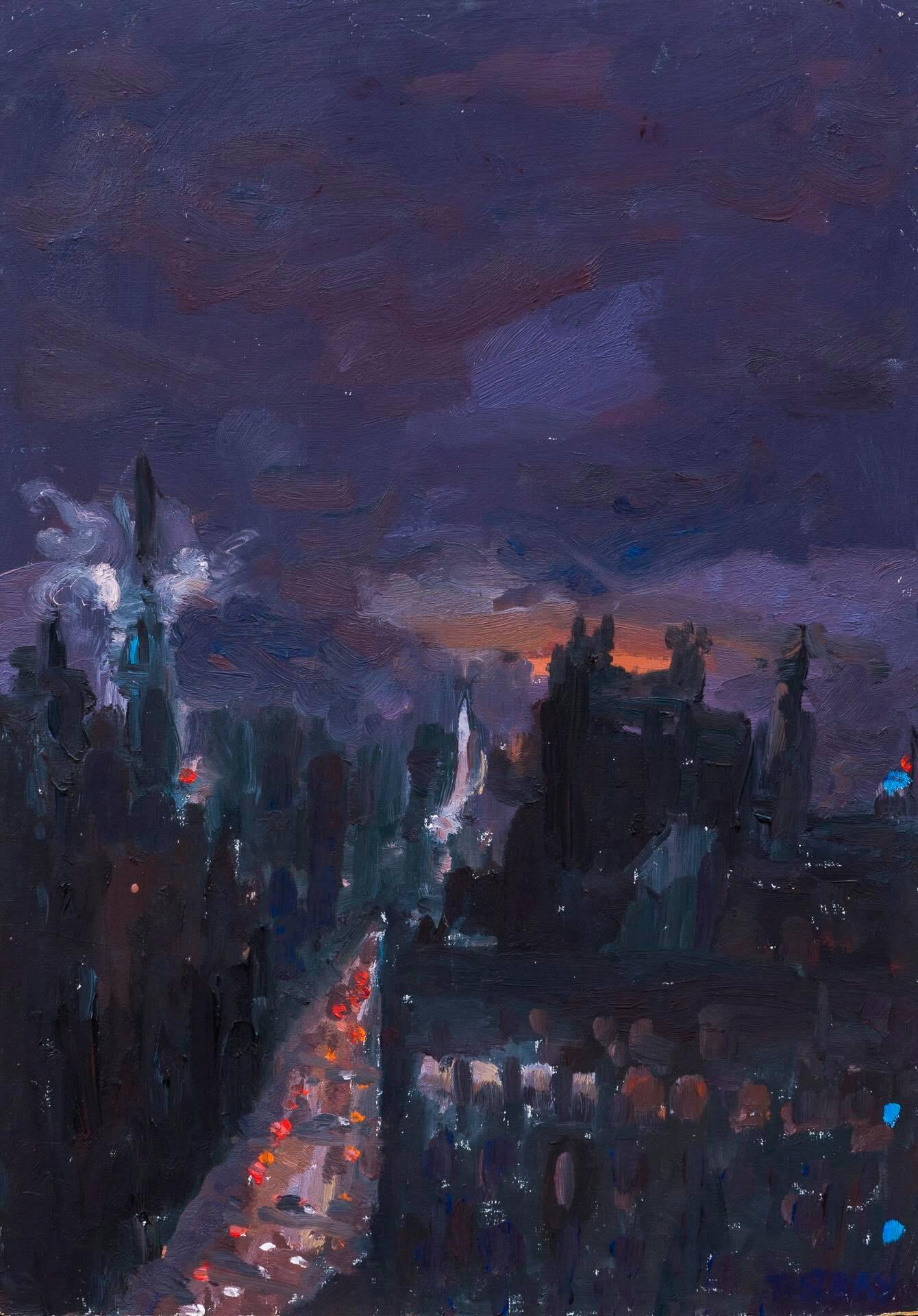 Twilight zones in Manhattan