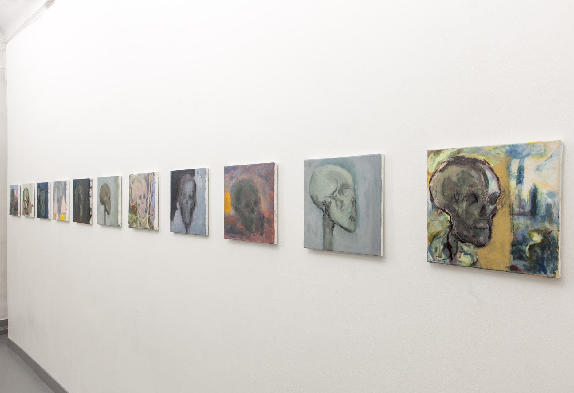 Scapes and Skulls, Exhibit