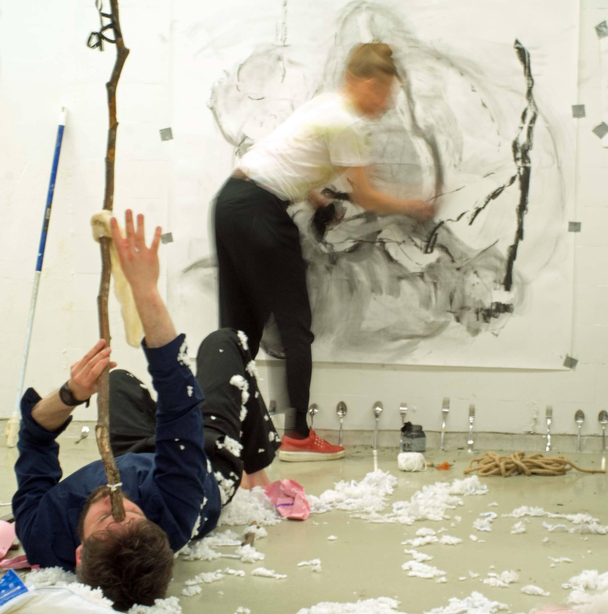 Live Drawing & Performance, B-Open